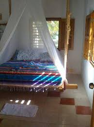 bedroom hanging bed design with striped blanket and canopy bedroom hanging bed design with striped blanket and canopy fabric together with furniture hanging bed