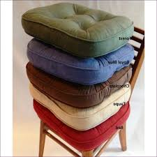 kitchen room awesome dining chair seat cushions with ties red
