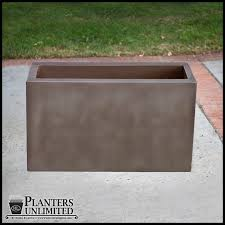 Corten Steel Planter by Corten Steel Planter Rectangle Weathered Steel Planter Rusted Finish