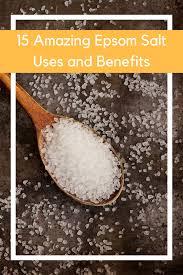epsom salt vs table salt 15 amazing epsom salt uses benefits everything pretty
