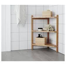bathroom creative bamboo bathroom shelf unit decor idea stunning