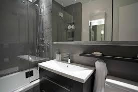 narrow ideas with white bath fixtures narrow grey bathroom grey bathroom single sink added surprising grey bathroom small space grey bathroom with single sink vanity added