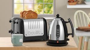 Dualit Stainless Steel Toaster Black Dualit 4 Slice Lite Toaster