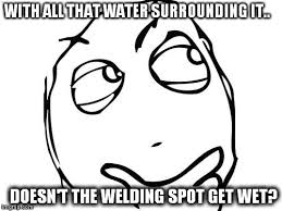 Wet Meme - how is underwater welding accomplished 盪 science abc