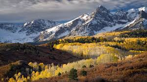 colorado forests hills mountains nature snow walldevil