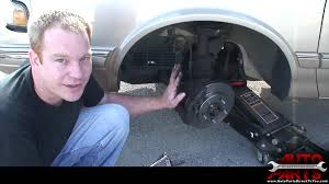 1995 oldsmobile cutlass ciera front brake pads and rotors youtube