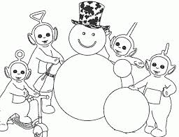 teletubbies christmas coloring pages cartoon 592033 coloring