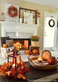 Ideas For Decorating A Home Best 25 Fall Home Decor Ideas On Pinterest Candle Decorations