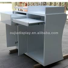 stylish cash register counter reception counter table cashier desk