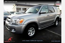 2005 toyota sequoia price used 2005 toyota sequoia for sale pricing features edmunds