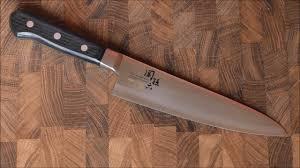 kai chef knife 4000cl ae 5104 japan youtube