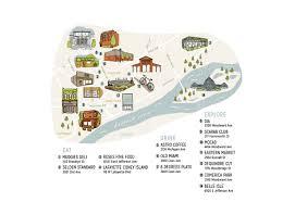 Comerica Park Map Illustrated Detroit Map On Ccs Portfolios