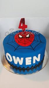 spiderman cake jess bakes