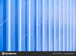 corrugated fence of yellow metal sheets with u2014 stock photo
