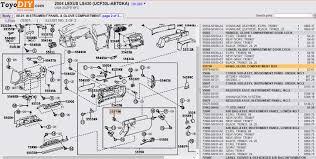 lexus ls430 usa glove box does not close easily 01 06 lexus ls430 lexus