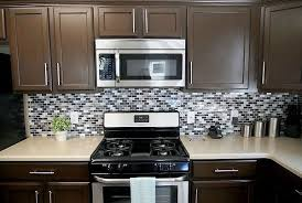 Graceful Chocolate Brown Painted Kitchen Cabinets - Brown cabinets kitchen