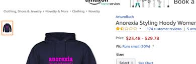 amazon needs to stop selling the u0027anorexia hoodie u0027 the mighty