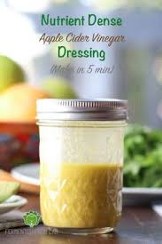 creamy apple cider vinaigrette dressing skip the mayo and use