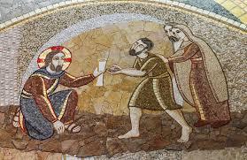 Jesus Healed The Blind Man Jesus Healing The Blind Man