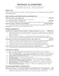 Special Skills Examples For Resume by Examples Of Resumes Resume Template Simple Student Employment