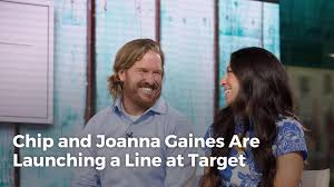 chip and joanna gaines are launching a line at target real simple