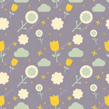 nordic style flower pattern u2014 stock vector etplushelios gmail