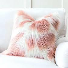 light pink fur blanket pink fur throw thechowdown