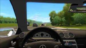 mercedes city car city car driving 1 2 4 mercedes clk55amg