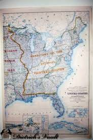 united states department of the interior bureau of indian affairs bureau of land management map for sale antiques com classifieds