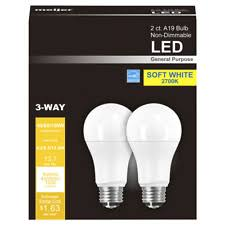 Philips LED 3 way Light Bulb A21 Soft White 40 60 100 We Standard