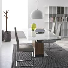 calligaris park extendable dining table modern tables