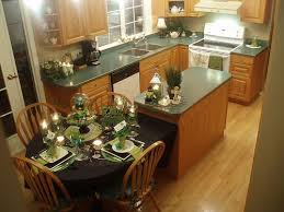 Best Kitchen Peninsula And Narrow Islands Images On Pinterest - Kitchen island with attached table