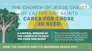 infographics lds charities programs