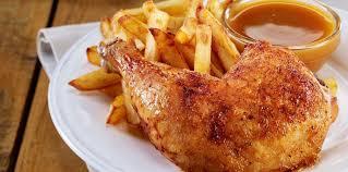 cuisiner un poulet roti poulet rôti frites facile et pas cher recette sur cuisine actuelle