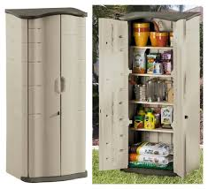 rubbermaid patio storage cabinets awesome vertical outdoor storage cabinet with inside decor 13