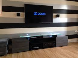 home theater entertainment center tv unit with speakers google search ideas for the house