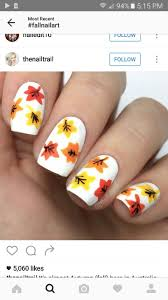 136 best nails fall images on pinterest fall nail art autumn