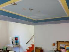 painting over a popcorn ceiling how tos diy