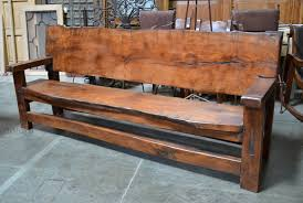 Outdoor Bench Furniture by Spanish Benches Custom Made Sofas Rustic Wood Benches Demejico