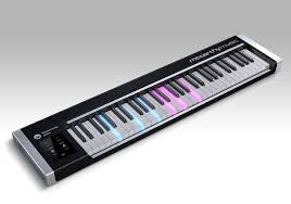 keyboard that lights up to teach you how to play inside the hardware of the illuminating piano mccarthy music