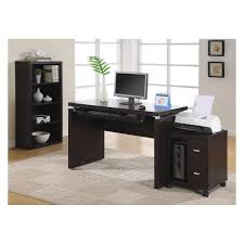 desks simple appealing brown laminate floor and stunning white
