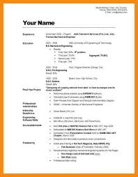 Examples Of How To Do A Resume example of how to write a resume how to write cv example how to