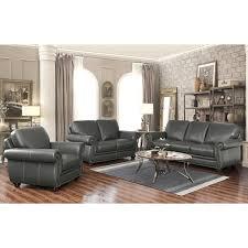 free living room set free living room set living room set abbyson kassidy grey top grain leather 3 piece living room set
