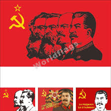 Stalin Flag Communist Flag Ebay