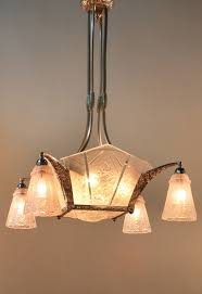 Art Deco Ceiling Lamp 179 Best Art Deco Chandeliers Images On Pinterest Art Deco