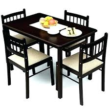 4 Chair Dining Sets Glass Dining Room Table And Chairs Stunning Glass Top Dining
