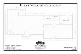 historic properties rental services forestville schoolhouse