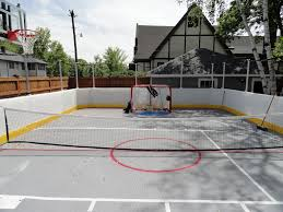 Hockey Rink In Backyard by Prowall Sport Resource Group