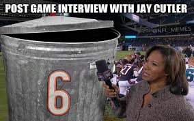 Funny Chicago Bears Memes - hilarious tweets blasting jay cutler s monday night football