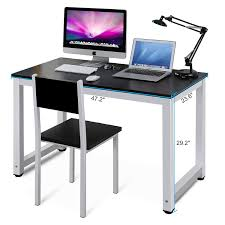 Personal Computer Desk Tribesigns Modern Simple Style Computer Desk Pc Laptop Study Table